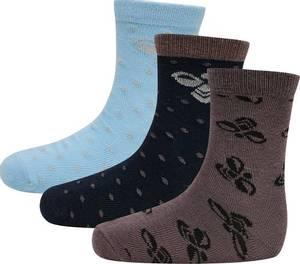 Bilde av Hummel Alfie 3-pack Socks, Airy Blue Sokker