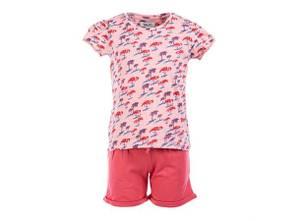 Bilde av Salto Shorts/T-skjortesett Loise Rosa